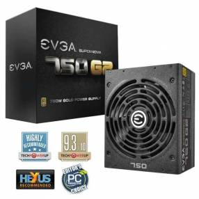 Fuente EVGA 750W G2 80Plus Gold 220-G2-0750-XR