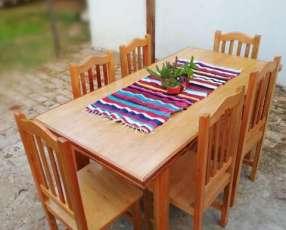 Juego de mesa para 6 personas