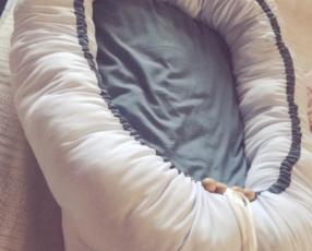 Asiento para bebé y nidito