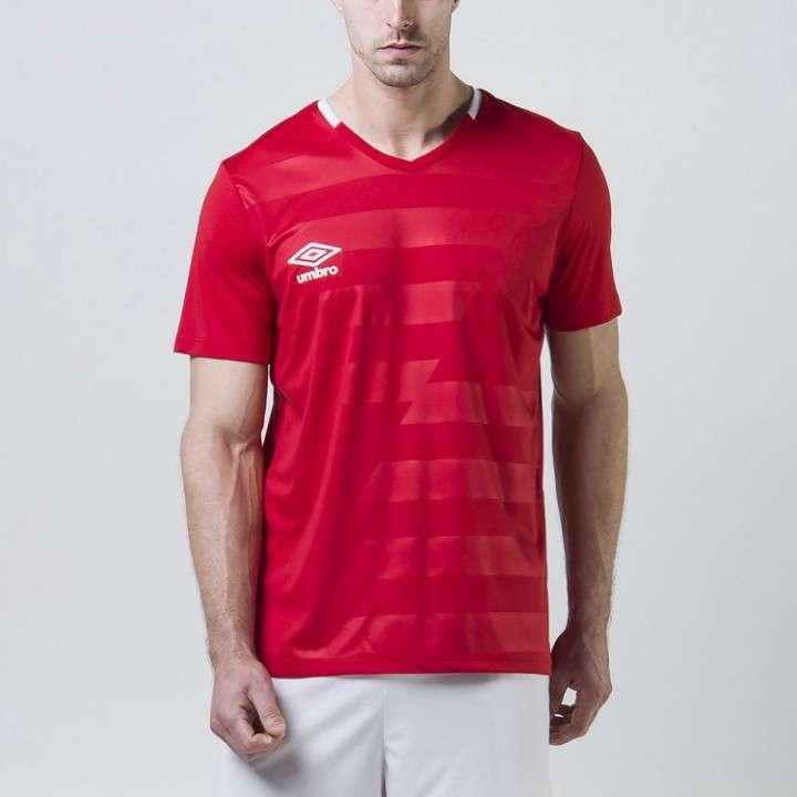 Camiseta de Futbol Umbro Rojo
