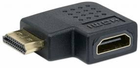 Adaptador HDMI H/M Ángulo 90 353496 Derecha