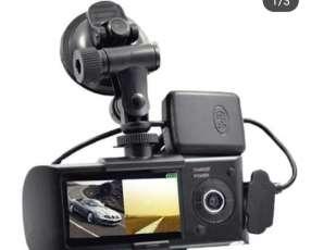 Cámara de doble lente GPS incorporado