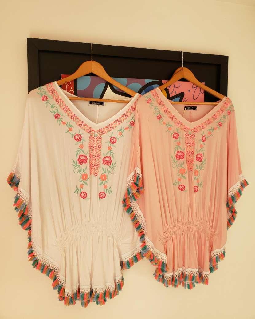 Playeras para el verano, blusas boho con varios colores