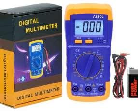 Tester Digital Amperimetro Multimetro A830L