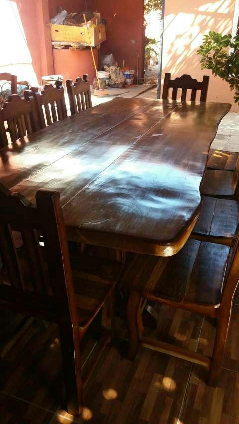 Mesa rustica de Lapacho