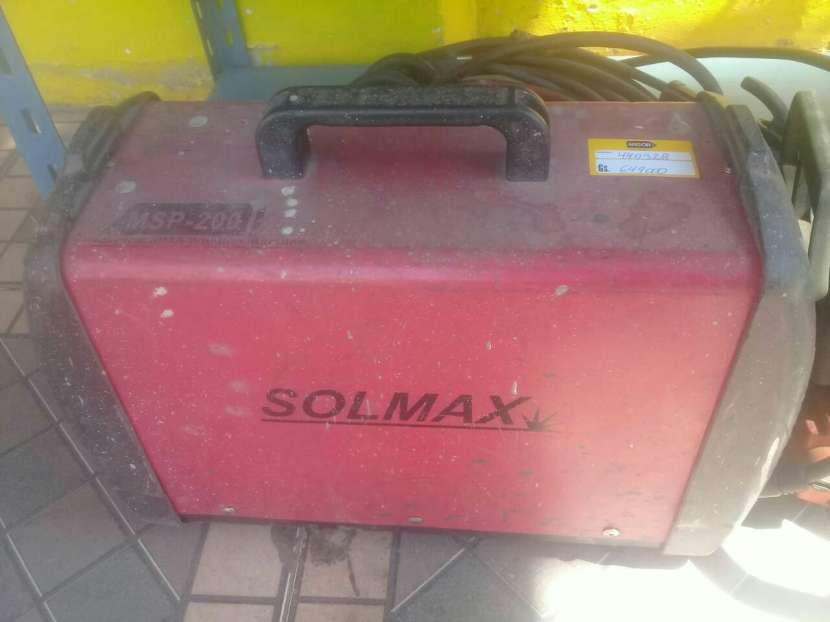 Soldador inverter Solmax 200 amper - 0