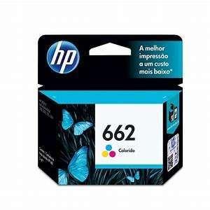 Tinta HP negro - color 662 - 1