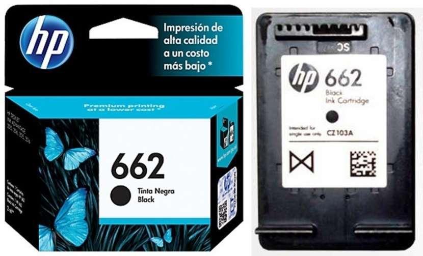 Tinta HP negro - color 662 - 0