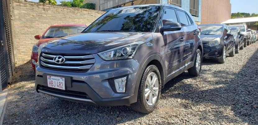 Hyundai Creta 2018 gris oscuro - 2