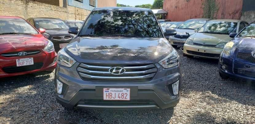 Hyundai Creta 2018 gris oscuro - 1