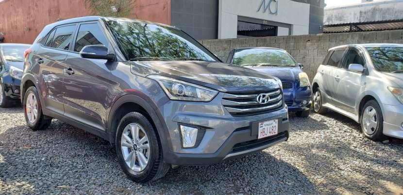 Hyundai Creta 2018 gris oscuro - 0