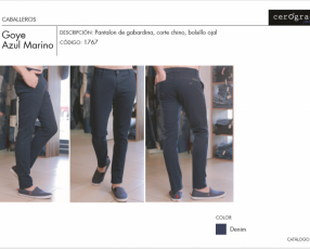 Pantalones de Tela Cerogrado - Hombres