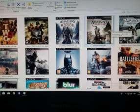 Carga de juegos PS3 a domicilio