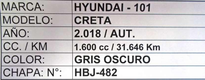 Hyundai Creta 2018 gris oscuro - 8