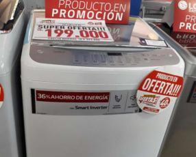 Lavarropa automático LG 13 Kg