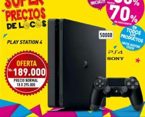 Play Station 4 - 500GB