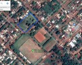 Terreno en el centro de Hernandarias