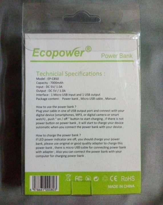 Cargador portátil Ecopower - 1