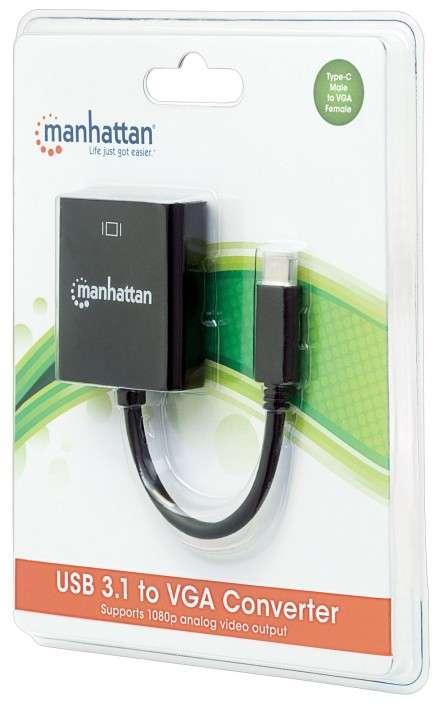 Conversor USB-C 3.1/VGA 151771 - 1