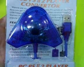 Adaptador control PS2 a PC