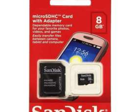 MEM SD 8GB Micro 2X1 Sandisk