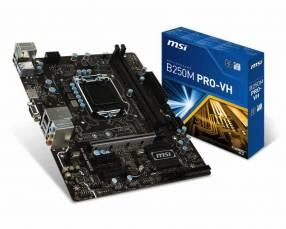 MB MSI LGA 1151 B250M PRO-VH VGA/DVI/HDMI
