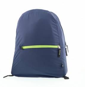 Mochila klip 5kg kfb-001bl plegable azul