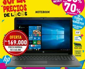 Notebook hp 15