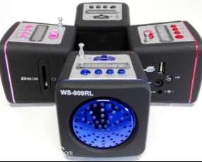 Mini mp3 speaker system ws-909rl