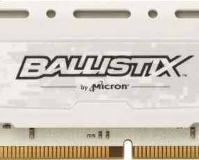 DDR4 8 GB 2400 MHZ Ballistix gaming blanco