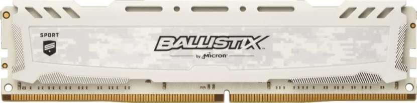 DDR4 8 GB 2400 MHZ Ballistix gaming blanco - 0