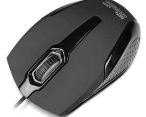 Mouse klip kmo-120bk usb negro