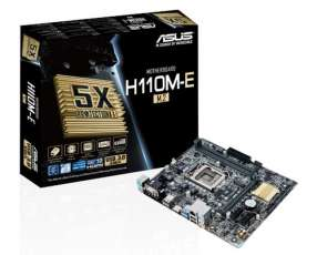 MB ASUS LGA1151 H110M-E/M.2 S/V/R/DVI/HDMI D4