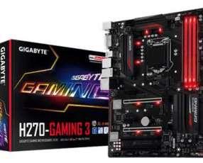 MB Gigabyte 1151 H270-GAMING 3 S/R/DVI/HDMI/M2/DDR4/ATX