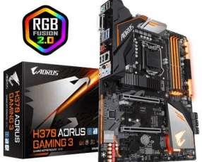 MB Gigabyte 1151 H370 GAMING 3 AORUS S/R/HDMI/DVI/DDR4/ATX