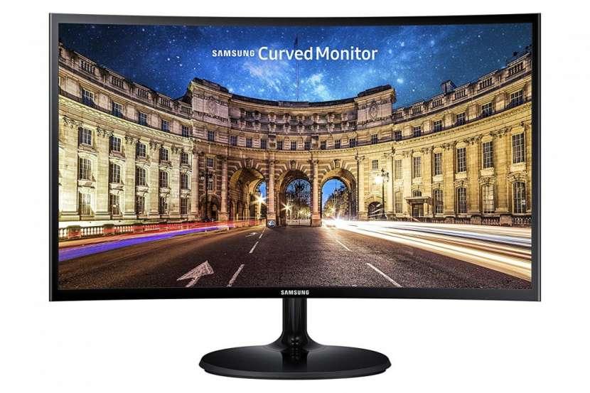 Monitor Samsung 24 pulgadas LC24F390FHLXZX VGA/HDMI curvo - 1