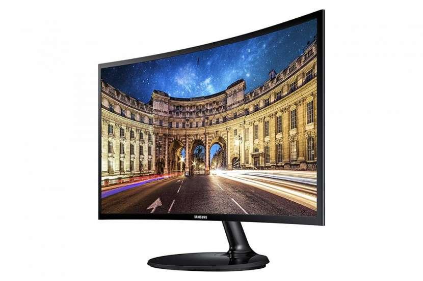 Monitor Samsung 24 pulgadas LC24F390FHLXZX VGA/HDMI curvo - 0