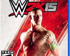 WWE 2K15 para PS4