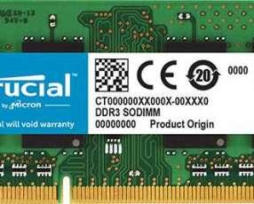 DD3L 4G 1600 Crucial CT51264BF160B