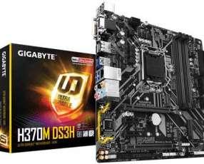 MB Gigabyte 1151 H370M DS3H V/S/R/DVI/HDMI/DP/DDR4/MATX