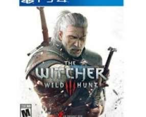 Witcher wild hunt para PS4