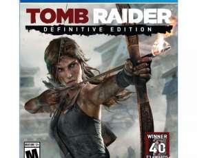 Tomb raider definitive edition para PS4