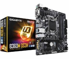 MB Gigabyte 1151 B360M DS3H V/S/R/HDMI/DVI/DDR4/MATX