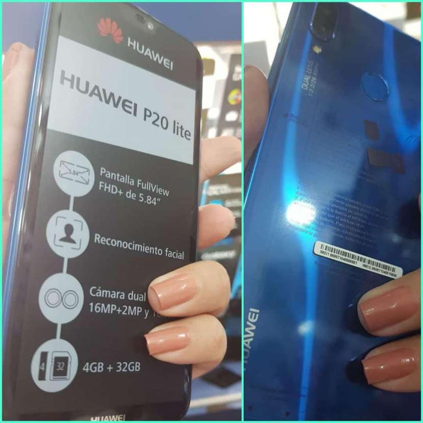 Huawei P20 Lite 2 - 0