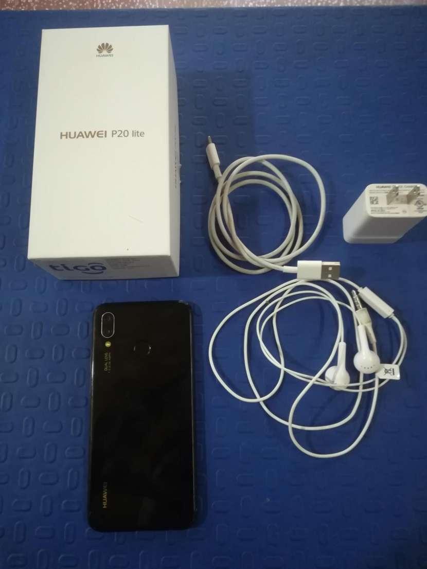 Huawei P20 lite fisurado - 1