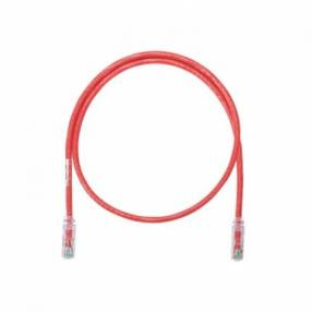 Ne lanp patch cord utp 3mt cat.6 rojo