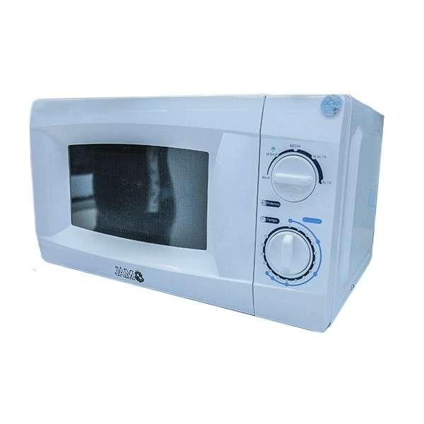 Microondas JAM 20 litros Blanco con luz interna