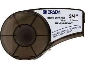 Brady cart.BMP21-142797 M21-750-595-WT 0.75'' X 21''