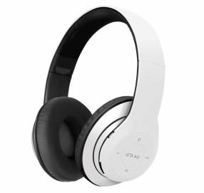 Fone+mic klip khs-631wh headph bt/msd/blanco