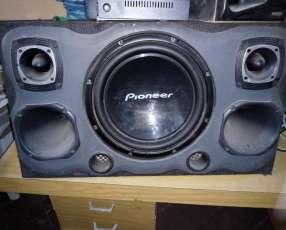Caja de sonido para carros